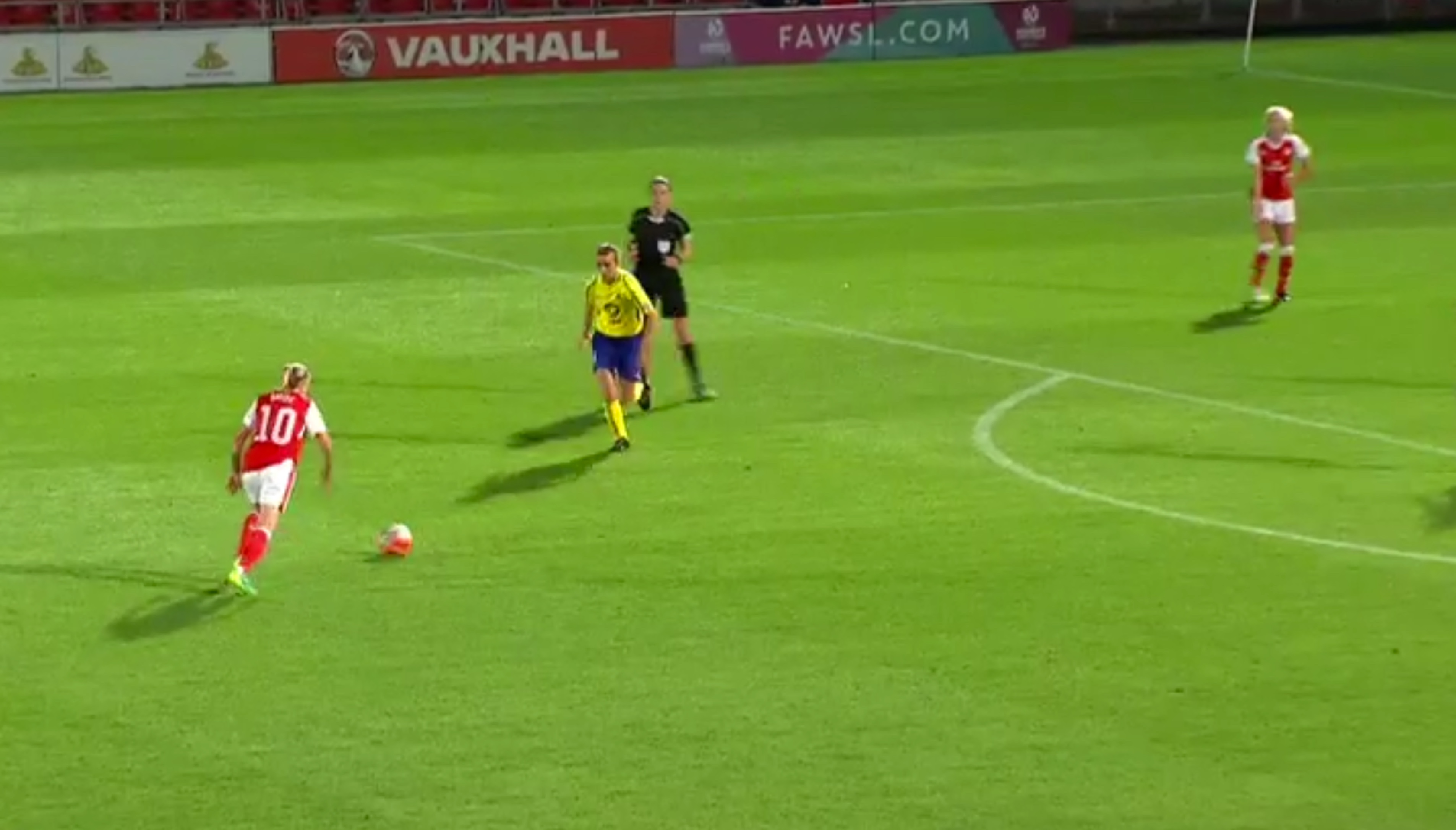 Kelly's nominated goal for BBC Sports FAWSL